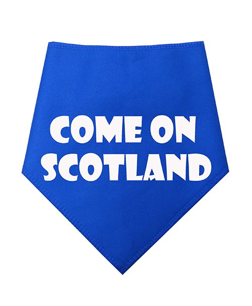 Come On Scotland Dog Bandana