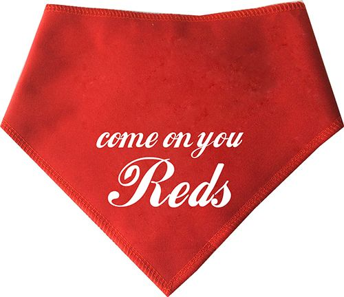 Come On You Reds Dog Bandana